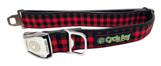 Halsband Red Plaid