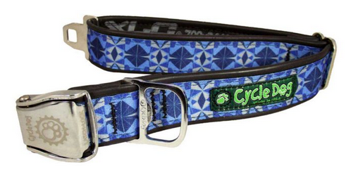 Halsband Fatty Blue Kaleidoscope